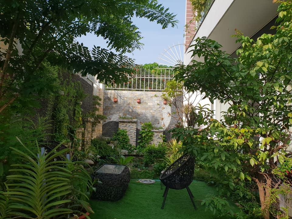Vườn trên mái - Vườn trên sân thượng