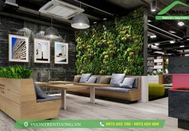 Vườn đứng giúp bạn thay đổi không gian sống