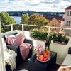 Gợi ý thiết kế ban công chung cư mát mẻ cho ngày hè
