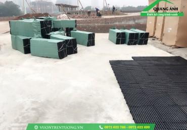 Tổng hợp một số công trình sử dụng vỉ thoát nước Quang Anh