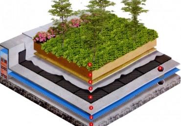 Giải pháp kỹ thuật thi công vườn trên mái