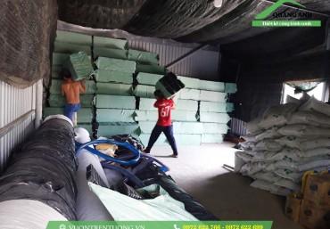 Vỉ thoát nước trong công trình thực tế tại Phú Quốc