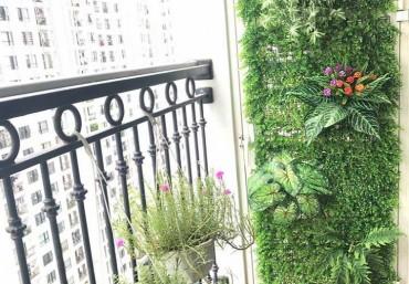 Những lưu ý khi làm vườn đứng cho ban công