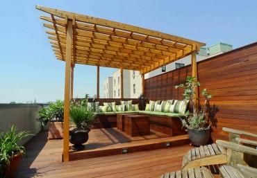 Vườn trên sân thượng tạo khác biệt cho kiến trúc độc đáo ngôi nhà của bạn