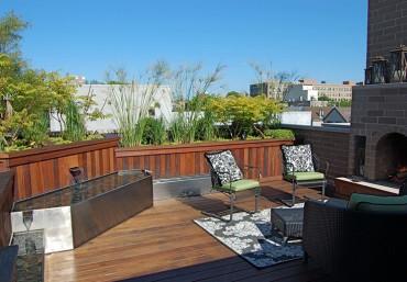 Những khu vườn trên sân thượng đẹp cho nhà phố