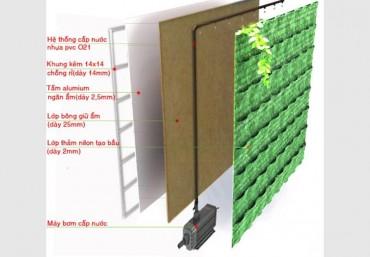 3 loại vườn đứng phổ biến và cấu tạo của vườn đứng