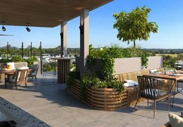Thiết kế vườn trên mái ấn tượng giúp không khí trong lành hơn
