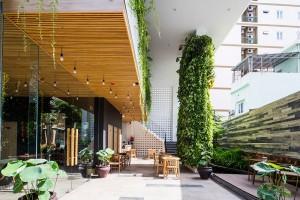 Vẻ đẹp của một khách sạn xanh nằm ngay tại thành phố Đà Nẵng