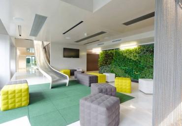 Văn phòng xanh và đẹp với modul vườn đứng Quang Anh Hà Nội