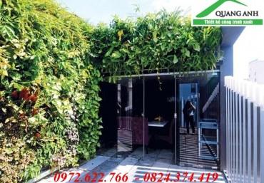 F5 lại không gian văn phòng với modul vườn đứng Quang Anh