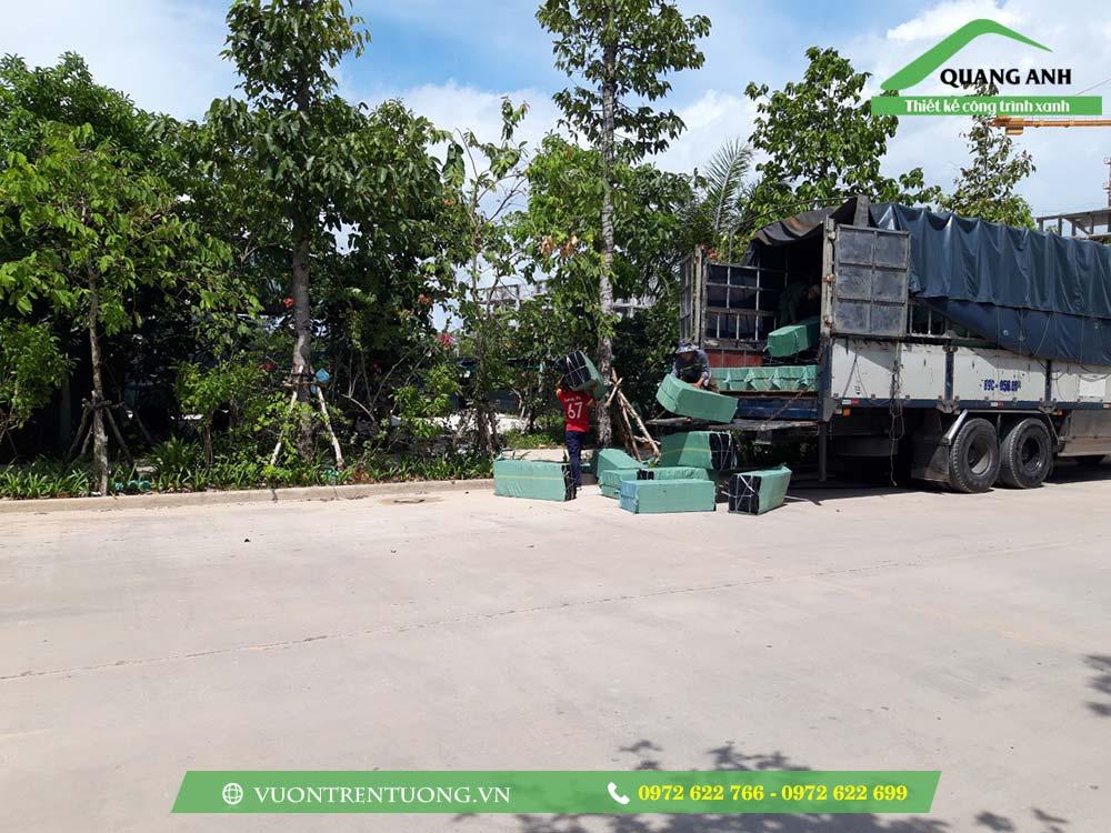 Một số hình ảnh thực tế công trình sử dụng vỉ thoát nước Quang Anh
