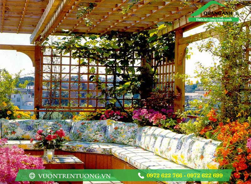 Cùng ngắm nhìn những mẫu vườn trên tường tuyệt đẹp