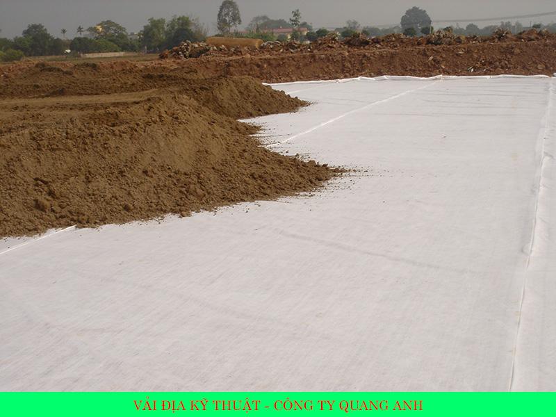 Vải địa kỹ thuật ART 9 của công ty Quang Anh HCM